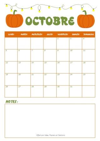 Planning octobre 2015